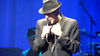 Leonard Cohen - Waiting For The Miracle (live) - The Orpheum Theatre, Memphis - 24-03-2013