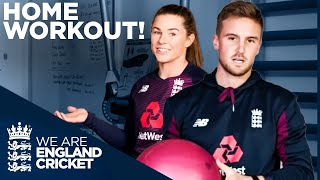 How To Stay Fit At Home With England Cricketers!   Home Fitness Workouts!   Vitality Fit 4 Cricket