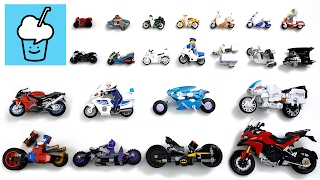 Motorbike for kids children and more with lego レゴ tomica トミカ playmobil transformer batman