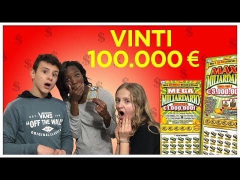 VINTI 100.000 Euro col GRATTA e VINCI - Ceci rimane senza parole 😱 scherzo