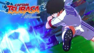 Captain Tsubasa: Rise of New Champions - Tsubasa vs Hyuga Match Gameplay!