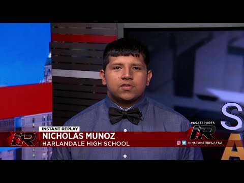 Scholar Athlete: Nicholas Munoz, Harlandale High School