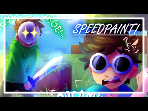 Speedpaint | Dream and George! from YouTube · Duration:  4 minutes 6 seconds