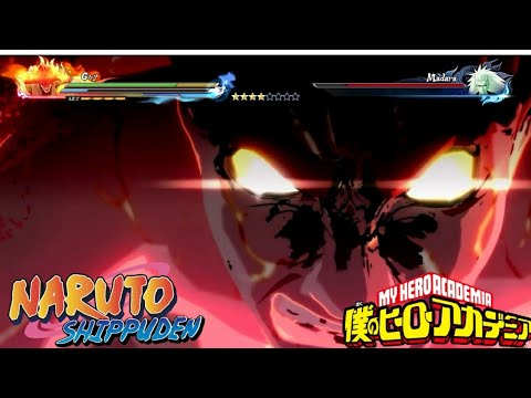 Jet Set Run Goes With Everything- Guy Vs Madara (Naruto Shippuden Ultimate Ninja Storm 4)