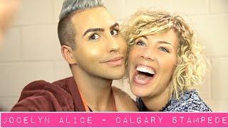 Jocelyn Alice Interview - Calgary Stampede