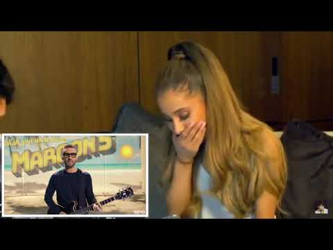 Maroon 5- Three Little Birds Reacted By Arina Grande
