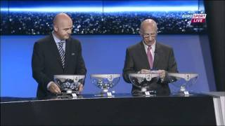 UEFA Champions League 11/12 in Monaco - Auslosung der Gruppenphase [Teil 2/3]