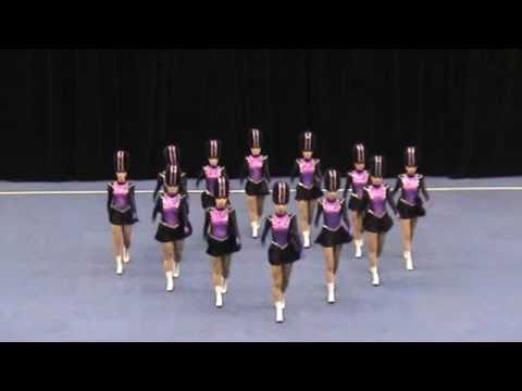 Black Diamond Drill Dance Senior Precision Drill 2011 Australian Champions