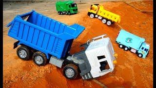 Many Truck in Construction | Excavator Crane For Kids | Children Songs