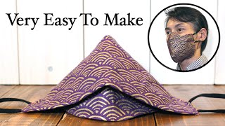 QUICK Simple 3D Face Mask Tutorial Easy Circle Pattern