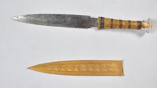 King Tut's Dagger Is Actually from Outer Space thumbnail
