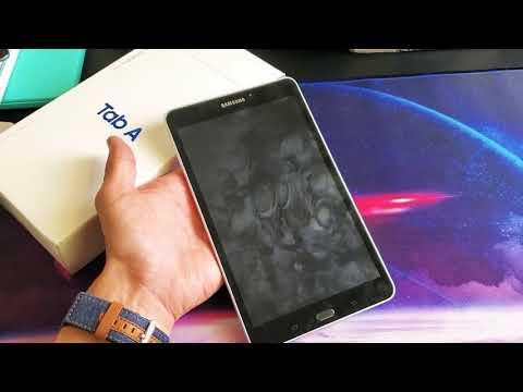 Galaxy Tab A: How to do a Forced Restart (Force a Restart)