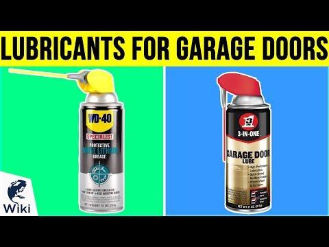 10 Best Lubricants For Garage Doors 2019 - YouTube