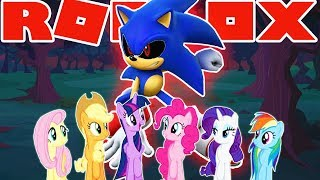 ROBLOX | Sonic & My Little Pony *FoUnd YoU*