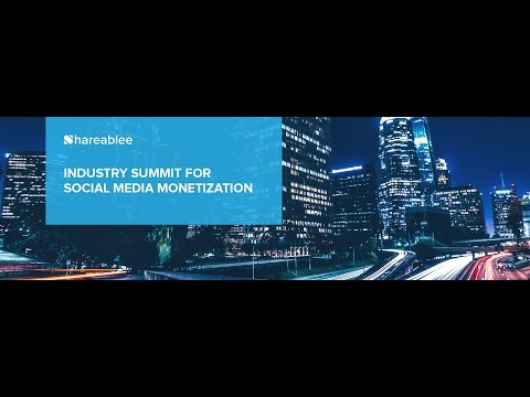 Los Angeles Industry Summit on Social Media Monetization.