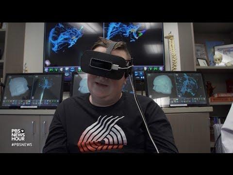 Virtual reality allows neurosurgery patients to 'tour' their own brains