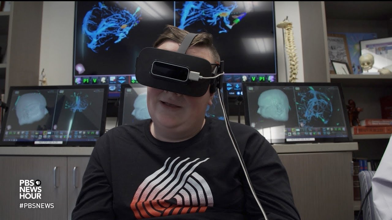 Virtual reality gives patients a special pre-surgery 'tour'