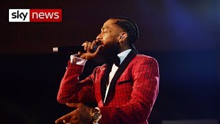 Rapper Nipsey Hussle shot and killed in LA