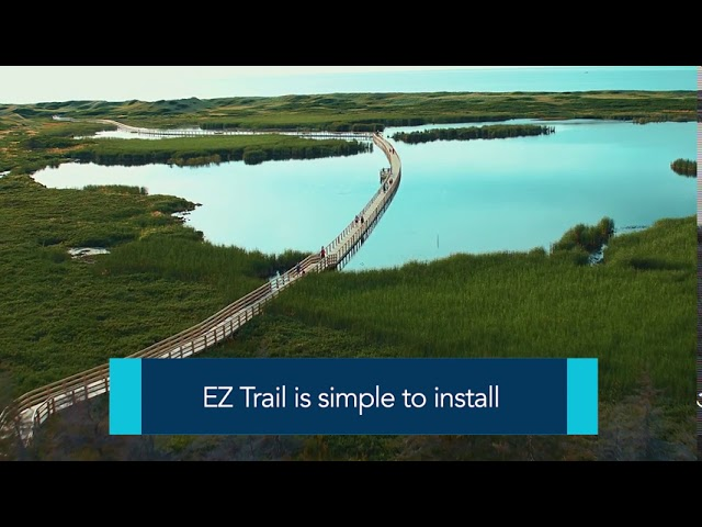 EZ Trail Floating Dock Walkways