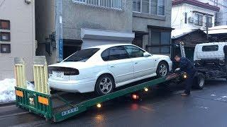 ヤフオクで車検1年以上付の7万円代のレガシィB4を仕入れたんじゃが、それはそれは…(^_^;)