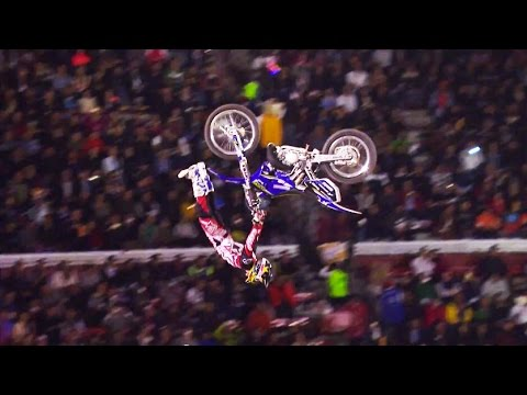 Best Freestyle Motocross Tricks from Red Bull X-Fighters Mexico 2015