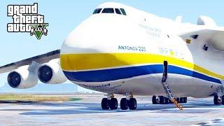 GTA 5 SP #67 - Antonov 225 Mriya Mod (Largest Airplane In the World)