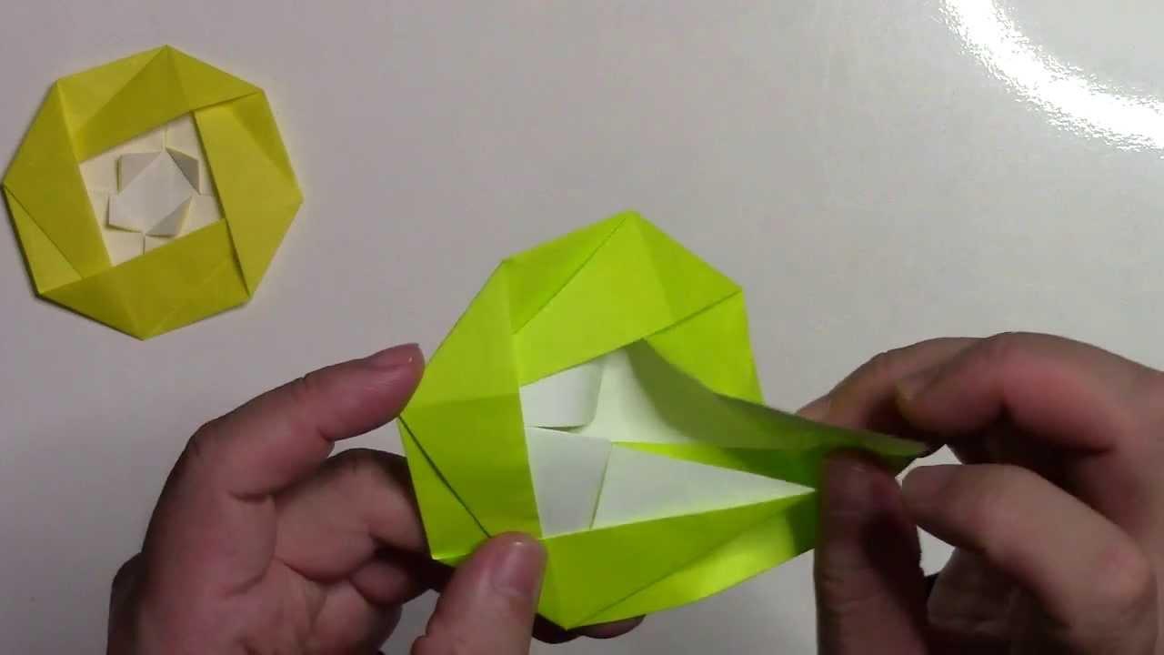 すべての折り紙 折り紙 折り方 バラ : 折り紙 折り方】簡単な椿の ...