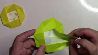 簡単な椿の花(ツバキ)の折り方です。 【まとめサイト】折り紙(Origami)...