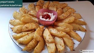Fırında Yoğurt Soslu Patates -Hülya Ketenci - Kahvaltılık Tarifler