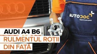 Audi A4 B7 Sedan - playlist-ul videourilor despre reparații auto