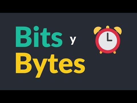Bits y Bytes explicados en 2 minutos ⏰