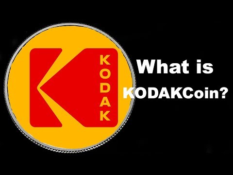 What Is KODAKCoin? Cryptocurrency For Photographers - 동영상
