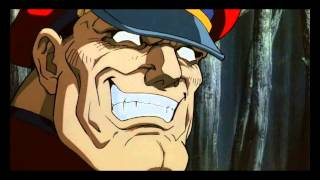 Street Fighter 2 Ryu and Ken vs Bison Final fight (Japanese HD)