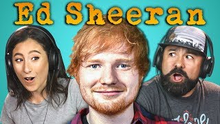 ADULTS REACT TO ED SHEERAN Mp3