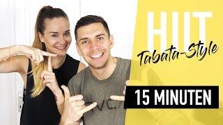 HIIT Tabata Training – 15 Minuten Full Body Workout zur Fettverbrennung auf Hochtouren | *KIANO*