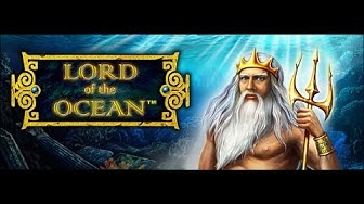 Lord of the ocean slot machine by Novamatic, Live play, free spins, Big win & handpay win (photo)
