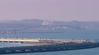 Крымский мост поразил своим величием и масштабом европейцев