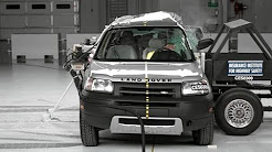 2003 Land Rover Freelander side test