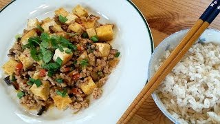 Mapo Tofu 麻婆豆腐 - Taiwanese Spicy Tofu And Pork Mince