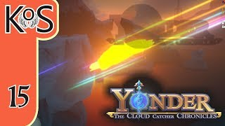 Yonder Ep 15: FINDING ARCADIA & THE TROLL VILLAGE - Farming, Fishing, Crafting, Relaxing! Let