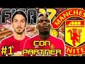 FIFA 17 Manchester United Modo Carrera #1 | UN NUEVO COMIENZO | CON PARTNER