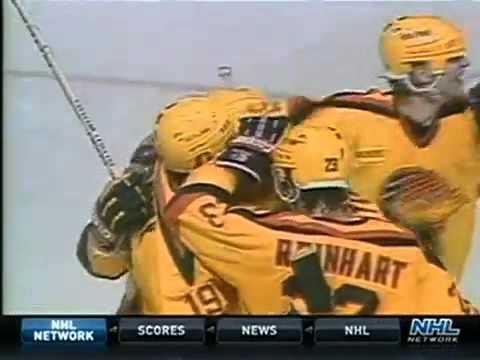 1989 Smythe Semi Canucks vs Flames Part 2 of 3