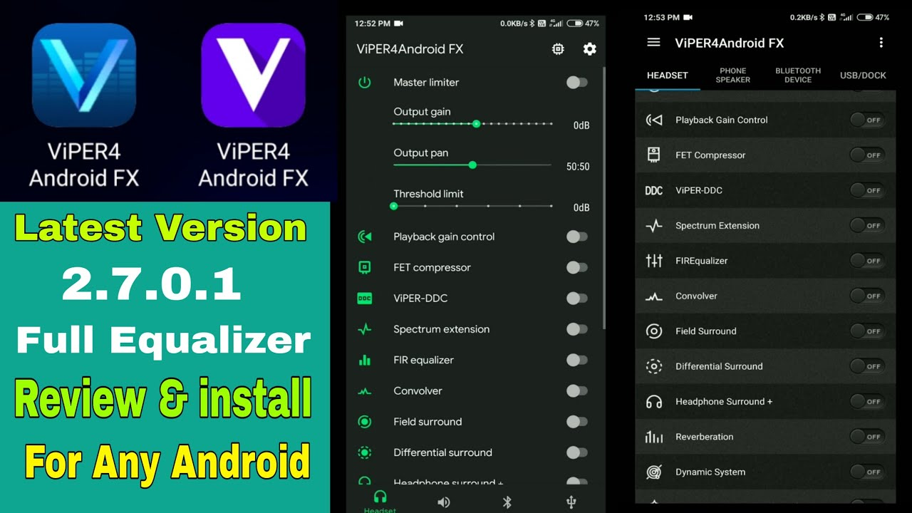 How To Install Viper4android Fx