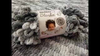 Bernat Alize Blanket EZ - Product Review & Tutorial!