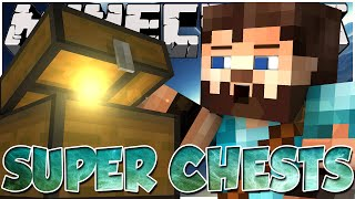 Minecraft Mod Showcase: SUPER CHESTS | Compact Chests, Gigantic Chests, Backpacks