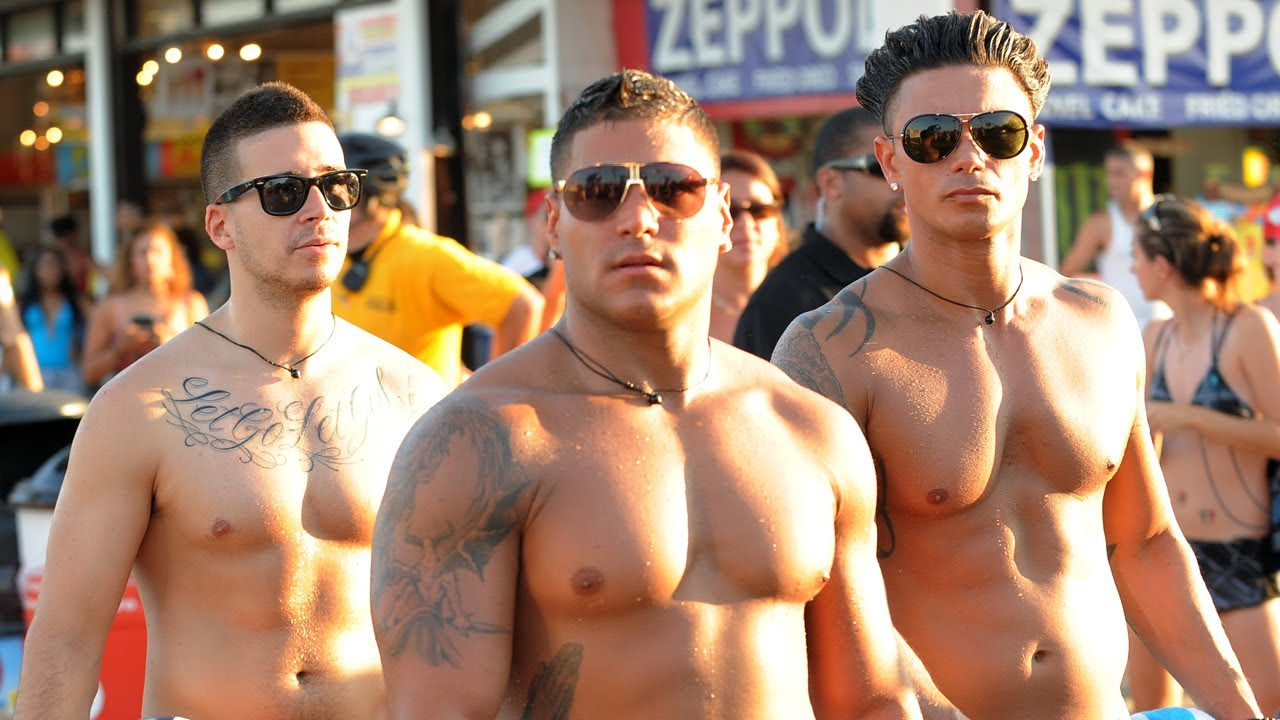 JERSEY SHORE Boys and the Building Blocks of Life (AKA: GTL) - YouTube