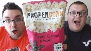 Propercorn Sweet Coconut & Vanilla Review (popcorn)