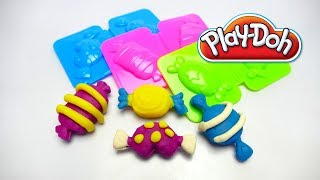 How to make Play Doh Candy with Molds