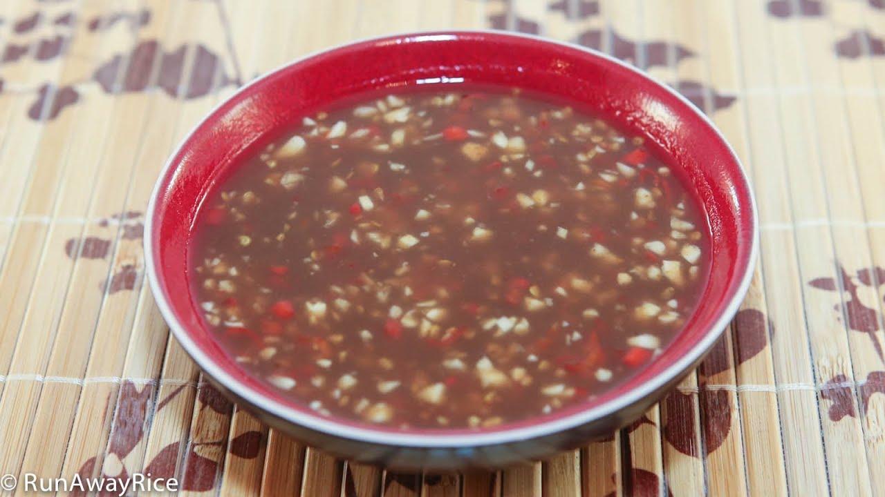 how to make vietnamese fish sauce nuoc mam