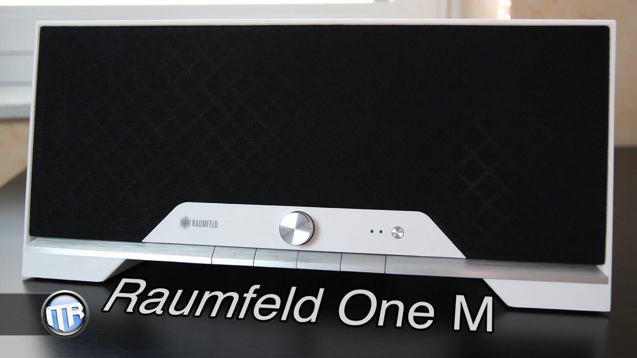 teufel raumfeld one m netzwerkf higer stereolautsprecher im test youtube. Black Bedroom Furniture Sets. Home Design Ideas